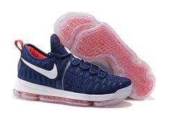 Men Nike Zoom KD 9 Basketball Shoe 396