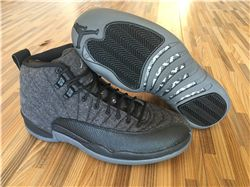 Men Basketball Shoes Air Jordan XII Wool AAA 274