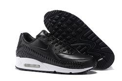 Men Nike Air Max 90 Woven Running Shoe 301