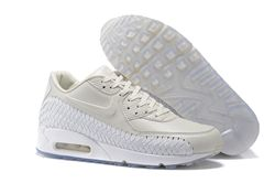 Men Nike Air Max 90 Woven Running Shoe 302