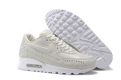 Men Nike Air Max 90 Woven Running Shoe 304