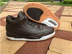 Men Air Jordan 3 Chocolate Basketball Shoe AAAAA 263