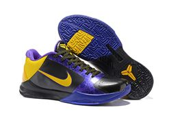 Men Kobe 5 Nike Basketball Shoe 422