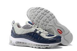 Men Supreme x NikeLab Air Max 98 Running Shoe 203