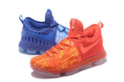 Men Nike Zoom KD 9 Fire Ice Basketball Shoe 409