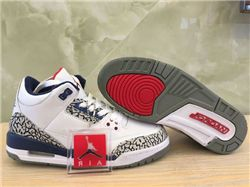 9ab673a15cf47a Women Air Jordan III Retro Sneakers AAA 222
