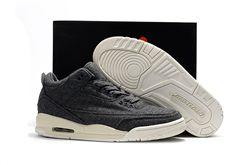 Men Basketball Shoe Air Jordan III Wool AAA 2...