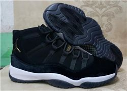 Men Basketball Shoe Air Jordan 11 Retro Black 365