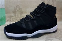 Women Sneakers Air Jordan XI Velvet Heiress Black 273