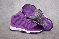 Women Sneakers Air Jordan XI Velvet Heiress Purple 274