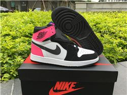Women Air Jordan 1 GS Valentines Day AAAA 221