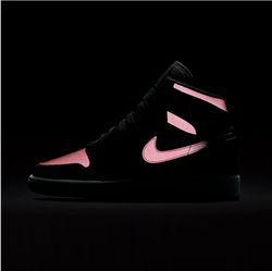 Women Sneaker Air Jordan 1 GS Vivid Pink 3M 225