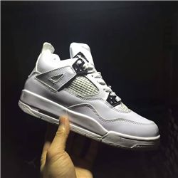 Men Basketball Shoe Air Jordan 4 Pure Money A...