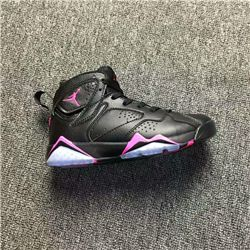 Women Air Jordan VI Retro Sneakers Black Powder AAAA 266