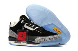 Men Basketball Shoes Atmos X Air Jordan 3 Ret...