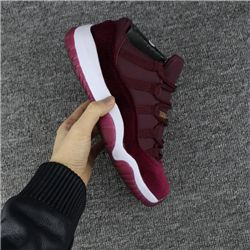Men Basketball Shoes Low Air Jordan 11 Velvet Heiress 382
