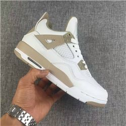 Women Sneaker Air Jordan 4 Retro Sand 275