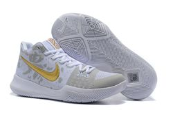 Men Nike Kyrie III Weave Basketball Shoes 292