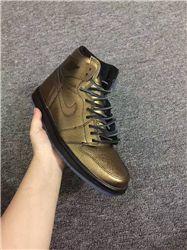 Men Basketball Shoe Air Jordan 1 Retro HI Win...