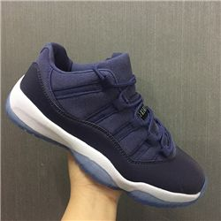 Women Sneakers Air Jordan XI Retro Low Blue M...