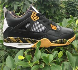 Men Basketball Shoes Air Jordan 4Gold Medal AAA 331
