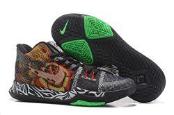 Men Nike Kyrie III Weave Basketball Shoes 302