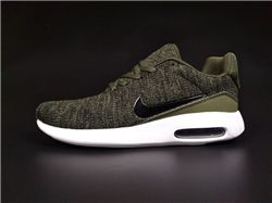 Men Nike Air Max 87 Modern Flyknit Running Shoes 360