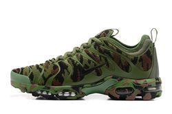 Men Nike Air Max Plus TN Ultra Camouflage Running Shoe 243