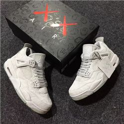 KAWS X Air Jordan 4 Men Basketball Shoe AAAA 337