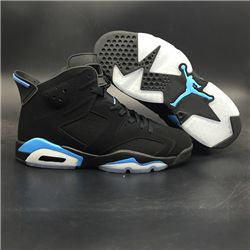 Men Basketball Shoe Air Jordan 6 University Blue AAAA 304