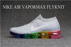 Men Nike Air VaporMax 2018 Flyknit Running Shoes AAA 312