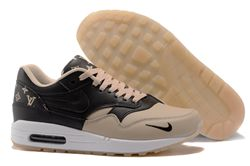 Women Nike Air Max 1 Supreme x Louis Vuitton Sneakers 292
