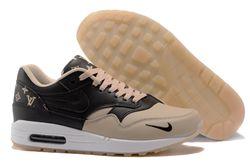 Men Nike Air Max 1 Supreme x Louis Vuitton Running Shoe 370