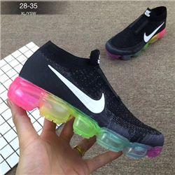 Kids Nike Air VaporMax 2018 Flyknit Running Shoe 235
