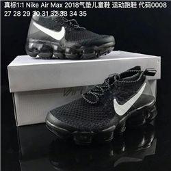 Kids Nike Air VaporMax 2018 Flyknit Running Shoe 222