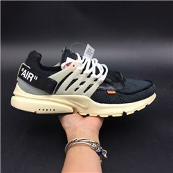 Men OFF-WHITE x Nike Air Presto