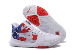 Men Nike Kyrie III Basketball Shoes 337