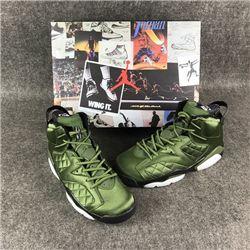 Men Basketball Shoe Air Jordan 6 Pinnacle Flight Jacket AAAAA 312