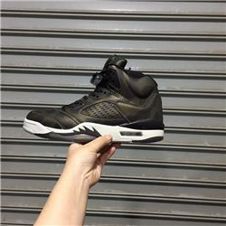 Men Air Jordan 5 Premium Heiress Metallic Field AAAA 346