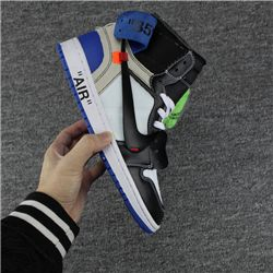 OFF-WHITE x Air Jordan 1 x Fragment Design AAAA 354