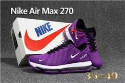 Women Nike Air Max 270 Sneakers KPU 211