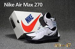 Men Nike Air Max 270 Running Shoes KPU 231