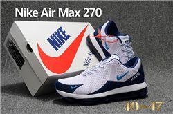 Men Nike Air Max 270 Running Shoes KPU 232