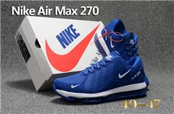 Men Nike Air Max 270 Running Shoes KPU 233