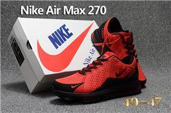 Men Nike Air Max 270 Running Shoes KPU 236