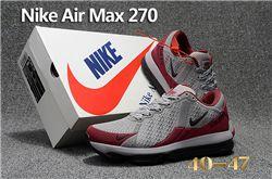 Men Nike Air Max 270 Running Shoes KPU 237