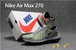 Men Nike Air Max 270 Running Shoes KPU 238