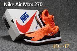 Men Nike Air Max 270 Running Shoes KPU 239
