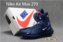 Men Nike Air Max 270 Running Shoes KPU 240