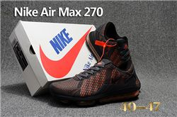 Men Nike Air Max 270 Running Shoes KPU 241